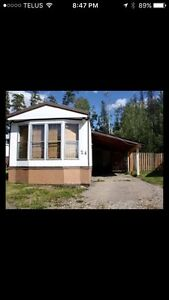 Trailer for rent in Tumbler Ridge BC