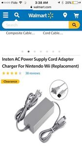 Wii power cord