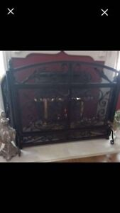 Fire place guard