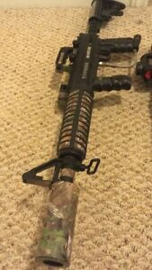 Tippmann 98 custom w/ apex barrel