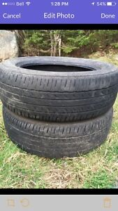 """Two 15"""" tires 20$!! Quick sale"""