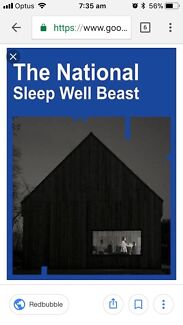 2 tickets to The National