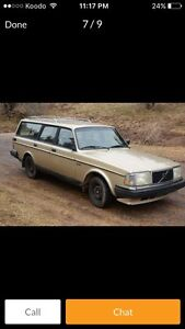 240 Volvo wagon with safety