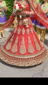 Beautiful Indian wedding lengha!