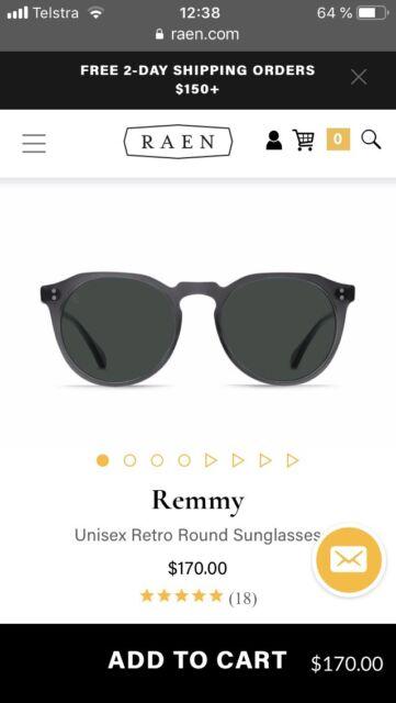 2dfabc01c5a RAEN Remmy 52 Unisex Sunglasses. Matte Grey Green Polarized. RRP  230