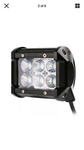 18w LED light, 1 for 25 or 2 for 40