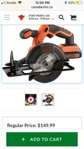 Black and decker tools