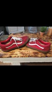 Vans old school rouge