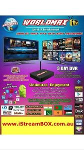 WorldMAX HD IPTV Hindi,Nepali,Bangla,Pakistani,Punjabi  LIVE TV Blacktown Blacktown Area Preview