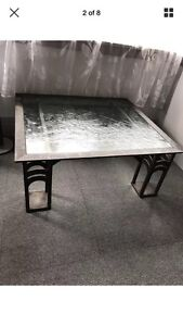 Cast wrought iron coffee table - Weis iron 90 Bexley Rockdale Area Preview
