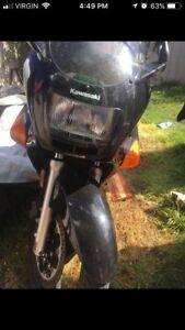 Motorcycle: Kawasaki ninja
