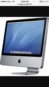 20 inch Mac Desktop with Accessories include.