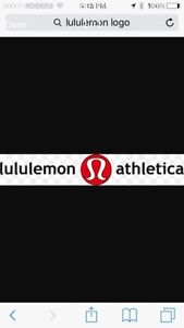 LULULEMON GIFT CARD FOR SALE