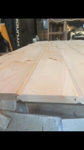 1x6 V-JOINT T&G PINE $0.65 per linear foot!!