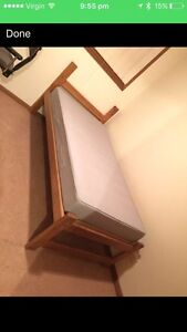 Single bed frame and mattress Cecil Hills Liverpool Area Preview