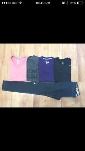Workout clothes (sz small)