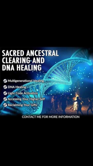 ⚡️SACRED ANCESTRAL CLEARING AND DNA HEALING⚡️   Alternative