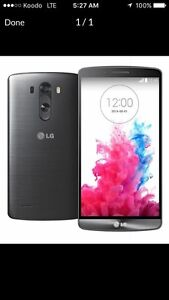 LG G3, 32gb, with Bell/Virgin.