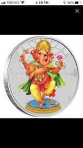 Perth mint Ganesha Silver Proof coin