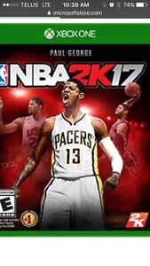 Want to trade new nba2k17 and new fall out 4