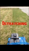 Lawn Dethatching , Aerating , And more Free Quotes
