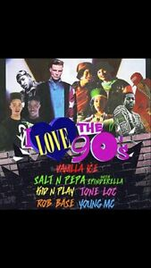 2 x tickets to I Love the 90s concert Abermain Cessnock Area Preview