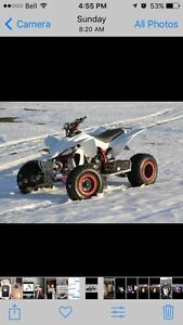 2005 YFZ 450 with trailer