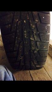 4 pneu d'hiver et 4 pneus d'été  West Island Greater Montréal image 4