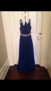 Royal Blue Prom/Graduation Dress Kitchener / Waterloo Kitchener Area image 1