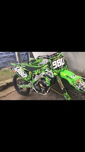 2014 KX250F good deal