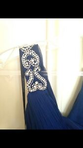 Royal Blue Prom/Graduation Dress Kitchener / Waterloo Kitchener Area image 5
