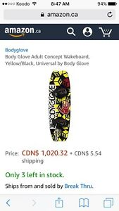 Body glove wake board, need gone.