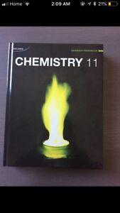 Nelson chemistry 11 textbook