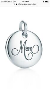 Tiffany & Co Mom round charm WANTED
