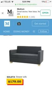 IKEA Solsta Fold Out Couch