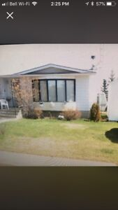 4 bdrm bungalow and garage on 2 beautiful lots