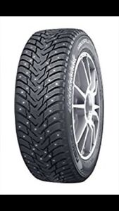 Brand new General altimax artic  studded 205/55R16 winter tires
