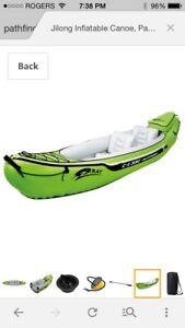 Inflatable 2-seater kayak - Brand new still in box