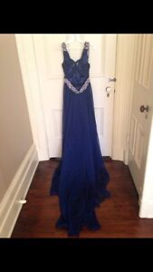 Royal Blue Prom/Graduation Dress Kitchener / Waterloo Kitchener Area image 2
