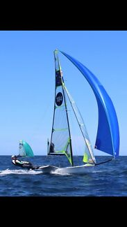 49er High performance sailing skiff ( not actual boat in photo )