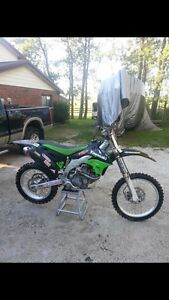 2006 Kawasaki kx450f with lots of extras