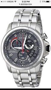 Brand New Citizen Eco Drive Radio Controlled Solar powered