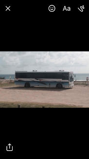 Motorhome bus conversion