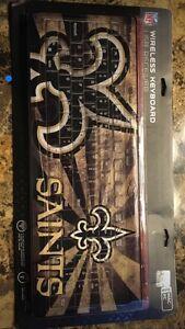 NFL New Orleans Saints Wireless Keyboard