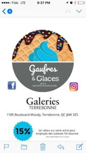 New franchise Gaufres&Glaces