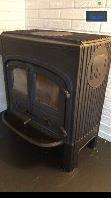Jotul no 5 bear , cast iron  Norwegian stove/Wood burner12kw for sale  Stroud