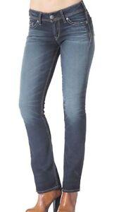 Silver Jeans 32 x 33 slim boot leg