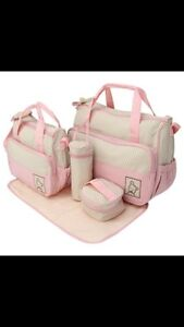 BRAND NEW!!! 5 pieces/set diaper bags