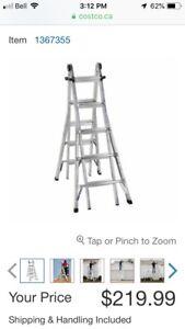 21 ft 5 position ladder