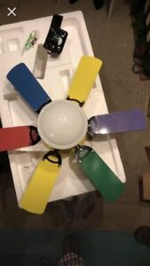 Child's Room Ceiling Fan-REDUCED PRICE
